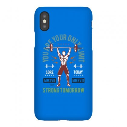 You Are Your Only Limit Iphonex Case Designed By Blqs Apparel