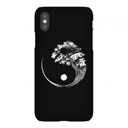 Yin Yang Tree Iphonex Case Designed By Blqs Apparel