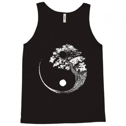 Yin Yang Tree Tank Top Designed By Blqs Apparel