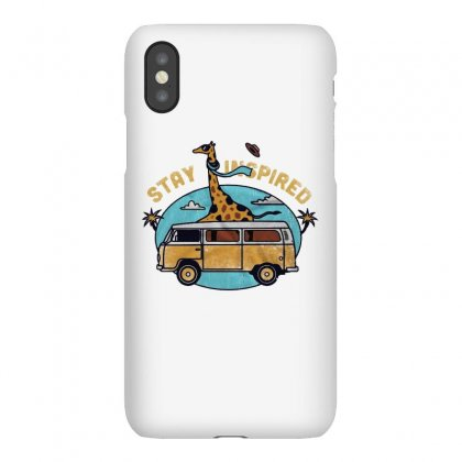 Stay Inspired Iphonex Case Designed By Blqs Apparel