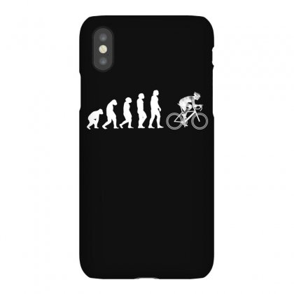 Evolution To Biking Bicycle Biker Cycling T Shirt Gift Tee For Bikers Iphonex Case Designed By Hung