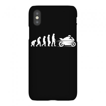 Evolution Of Motorbike Tshirt Motorbiking Sportbike Biker Gift Tee Evo Iphonex Case Designed By Hung