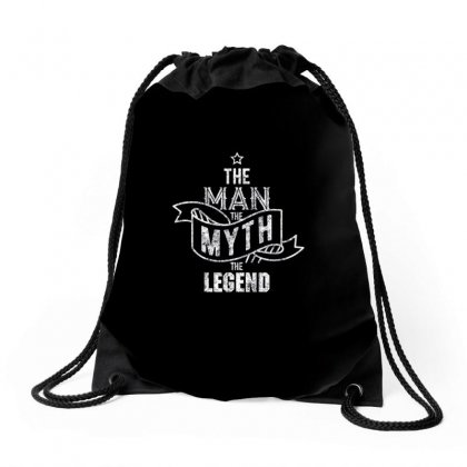 The Man The Myth The Legend1 Drawstring Bags Designed By Vanitty