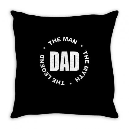 The Man The Myth The Legend2 Throw Pillow Designed By Vanitty