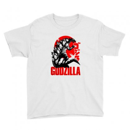 Godzilla Youth Tee Designed By Zeynepu