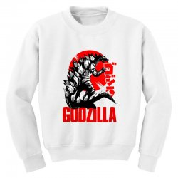 godzilla Youth Sweatshirt | Artistshot