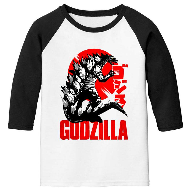 Godzilla Youth 3/4 Sleeve | Artistshot