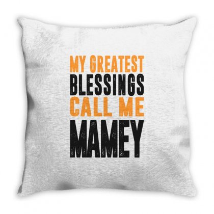 Greatest Mamey Throw Pillow Designed By Cidolopez