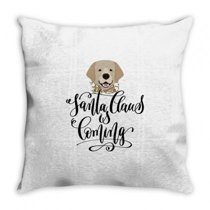 Santa Claus Is Coming Throw Pillow Designed By Tiococacola