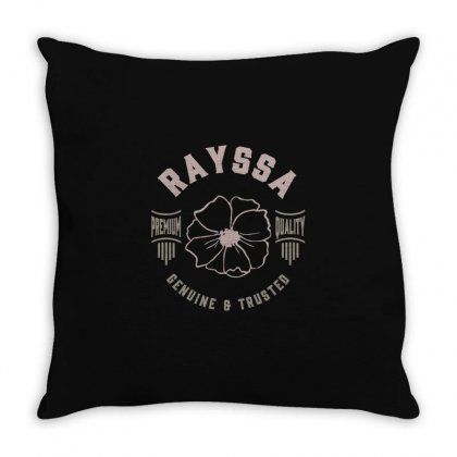Is Your Name, Rayssa? This Shirt Is For You! Throw Pillow Designed By Chris Ceconello