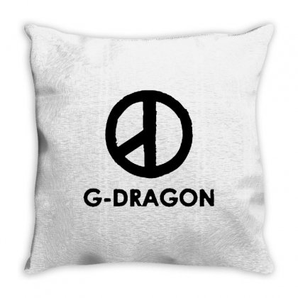 G Dragon Coup Peace Sign Throw Pillow Designed By Blqs Apparel