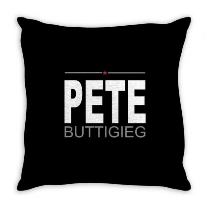 Pete Throw Pillow Designed By Banjarstore