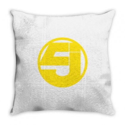 5j Throw Pillow Designed By Banjarstore