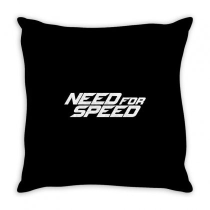 Need For Speed License Plate. Throw Pillow Designed By Tiococacola