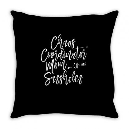 Mom Of Saasholes Throw Pillow Designed By Cogentprint