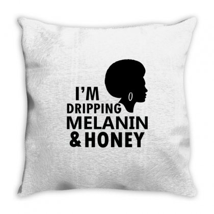 Unapologetically Brainy Black Girl Throw Pillow Designed By Cogentprint