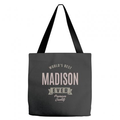 Is Your Name, Madison? This Shirt Is For You! Tote Bags Designed By Chris Ceconello