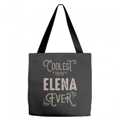 Is Your Name, Elena? This Shirt Is For You! Tote Bags Designed By Chris Ceconello