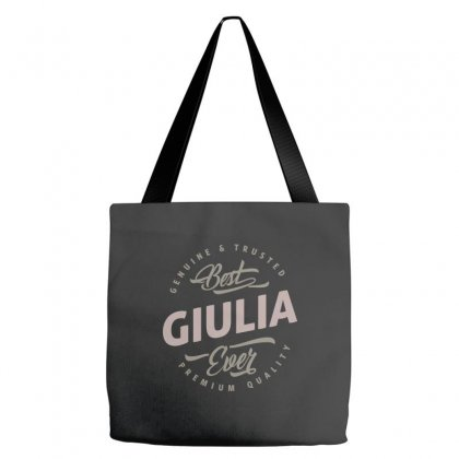 Is Your Name, Giulia ? This Shirt Is For You! Tote Bags Designed By Chris Ceconello