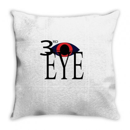 Eye Throw Pillow Designed By