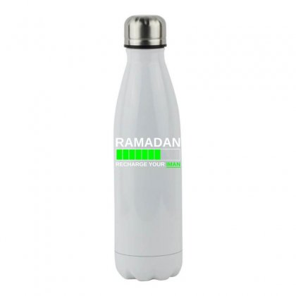Ramadan Recharge Your Iman Stainless Steel Water Bottle Designed By