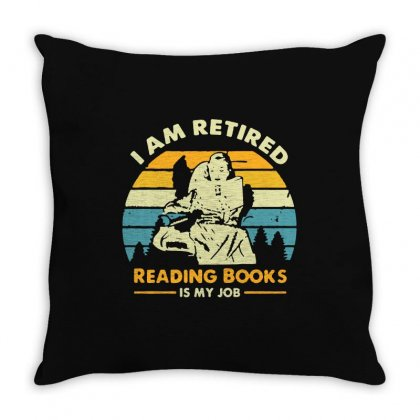 Vintage Job Throw Pillow Designed By