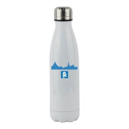 Equalizer   Monstercat T Shirts Stainless Steel Water Bottle Designed By Hung