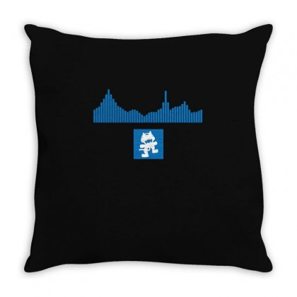 Equalizer   Monstercat T Shirts Throw Pillow Designed By Hung