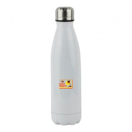 Sunset Island Stainless Steel Water Bottle Designed By