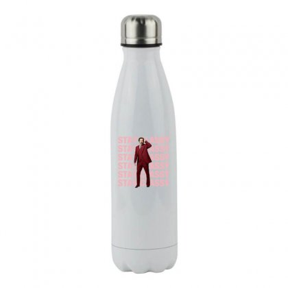 Stay Classy Anchorman Stainless Steel Water Bottle Designed By Sengul