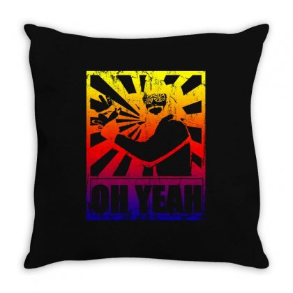 Macho Man Randy Savage Throw Pillow Designed By Sengul