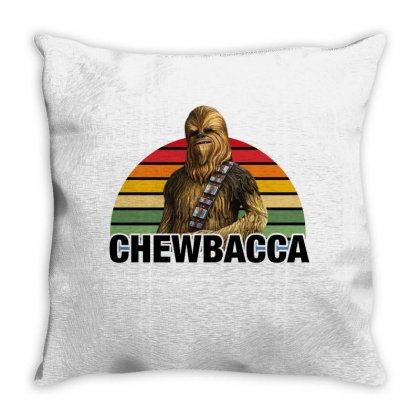 Chewbacca For Light Throw Pillow Designed By Sengul