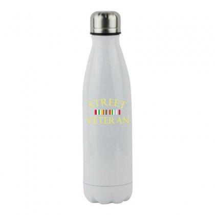 Street T Club Veteran T Shirt Stainless Steel Water Bottle Designed By Hung