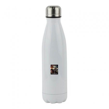 Rock Band Stainless Steel Water Bottle Designed By