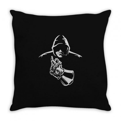 Powerful Throw Pillow Designed By