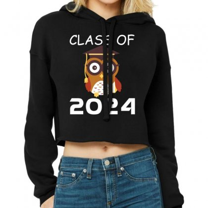 Class Of 2024 T Shirt Cropped Hoodie Designed By Hung