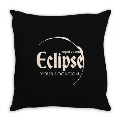 Eclipse Throw Pillow Designed By
