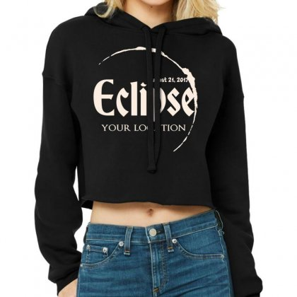 Eclipse Cropped Hoodie Designed By