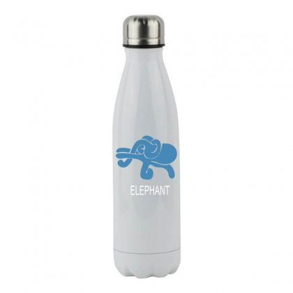 Elephant Stainless Steel Water Bottle Designed By