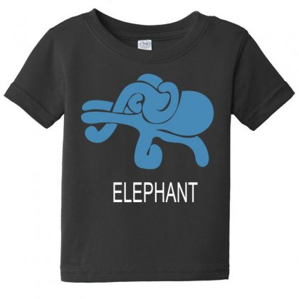 Elephant Baby Tee Designed By