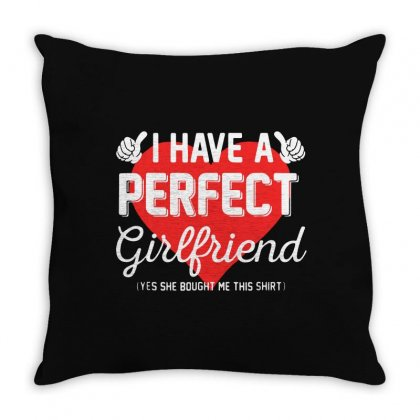 Perfect Hearts Throw Pillow Designed By