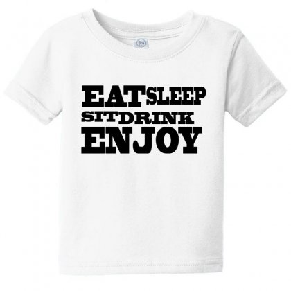 Enjoy Baby Tee Designed By