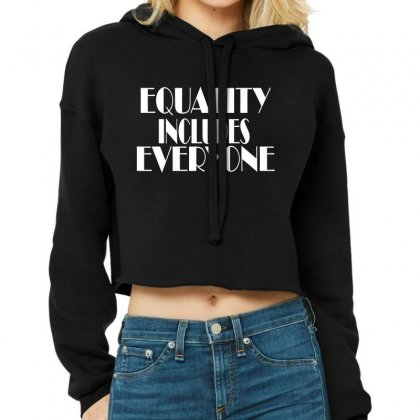 Equality Cropped Hoodie Designed By