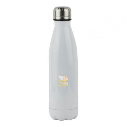 Old Man Killing Stainless Steel Water Bottle Designed By