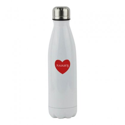Family Stainless Steel Water Bottle Designed By