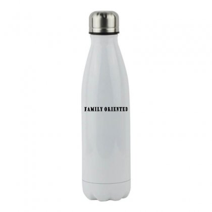 Family Oriented Stainless Steel Water Bottle Designed By