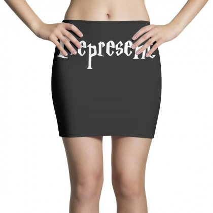 Represent T Shirt Mini Skirts Designed By Hung