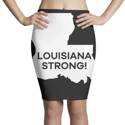 Louisiana Strong T Shirt Pencil Skirts Designed By Hung
