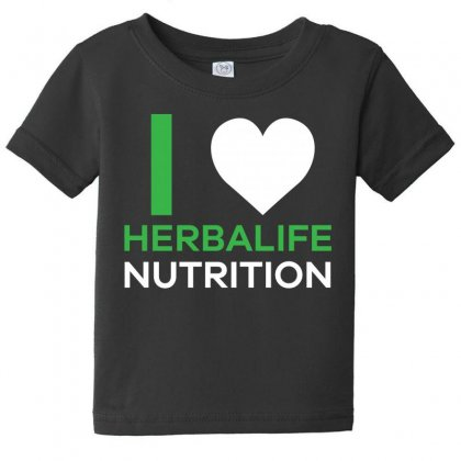 I Love Herbalife Nutrition T Shirt Baby Tee Designed By Hung