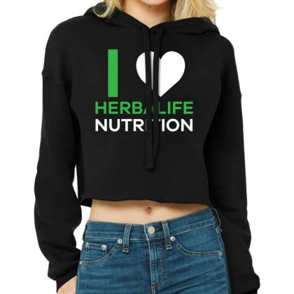 I Love Herbalife Nutrition T Shirt Cropped Hoodie Designed By Hung